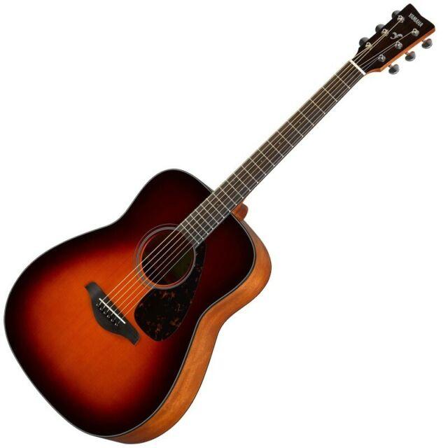 Yamaha Fg800 Folk Acoustic Guitar Vintage Tint For Sale Online Ebay
