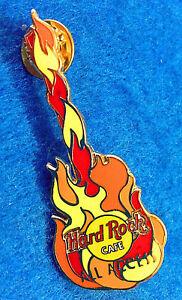Todo-Acceso-Hrcpcc-Membership-Amarillo-Naranja-Rojo-Flames-Guitar-Hard-Rock-Cafe