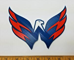 Washington Capitals 3D Hockey Logo (2 Versions) - Emblem ...