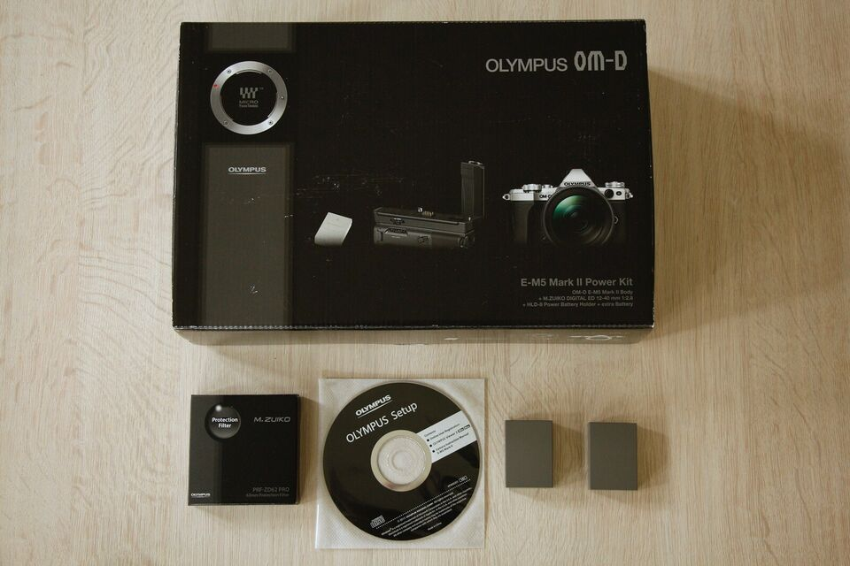 Olympus OM-D E-M5 Mark II, 16,1 megapixels, Perfekt