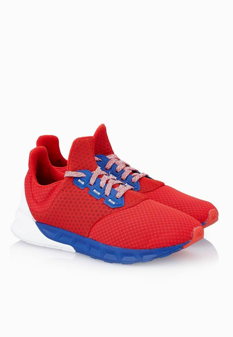 New Adidas Performance Falcon Elite 5 Men Red Running Shoes 2018 Release AQ5239