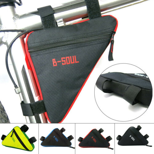 20x18.5x4cm Polyester B-SOUL Bicycle Frame Front Tube Triangle Bag Bike Pouch