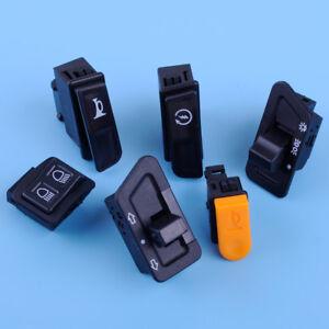 6X-Blinker-Starter-Scheinwerfer-Schalter-Dimmer-Hupenknopf-fuer-GY6-50-125-150-cc