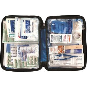 131 Pieces First Aid Medical Emergency Kit Advanced Surgical Suture Kit