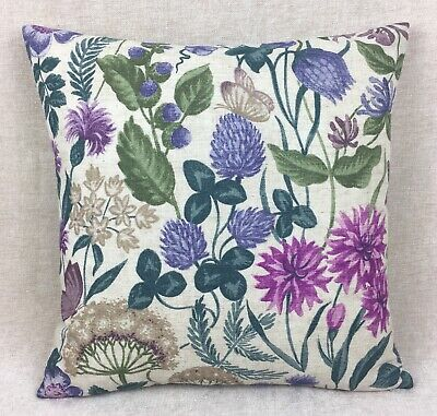 """John Lewis /& Partners Astrea Fabric Cushion Cover Bronze Double Sided 17/""""x17/"""""""