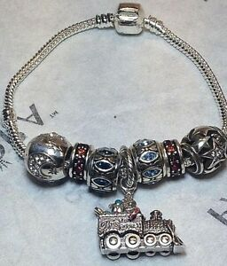 Brighton-034-All-Aboard-for-Christmas-034-7-Charms-amp-7-5-034-Bracelet-Sale-68-Retail-136