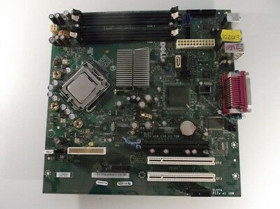Dell 0GM819 REV A01 Optiplex 755 Motherboard With Celeron 430 1.80 GHz Cpu