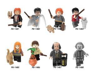 New Custom Minifigure Professor Dumbledore Harry Potter Moc Lego US SELLER