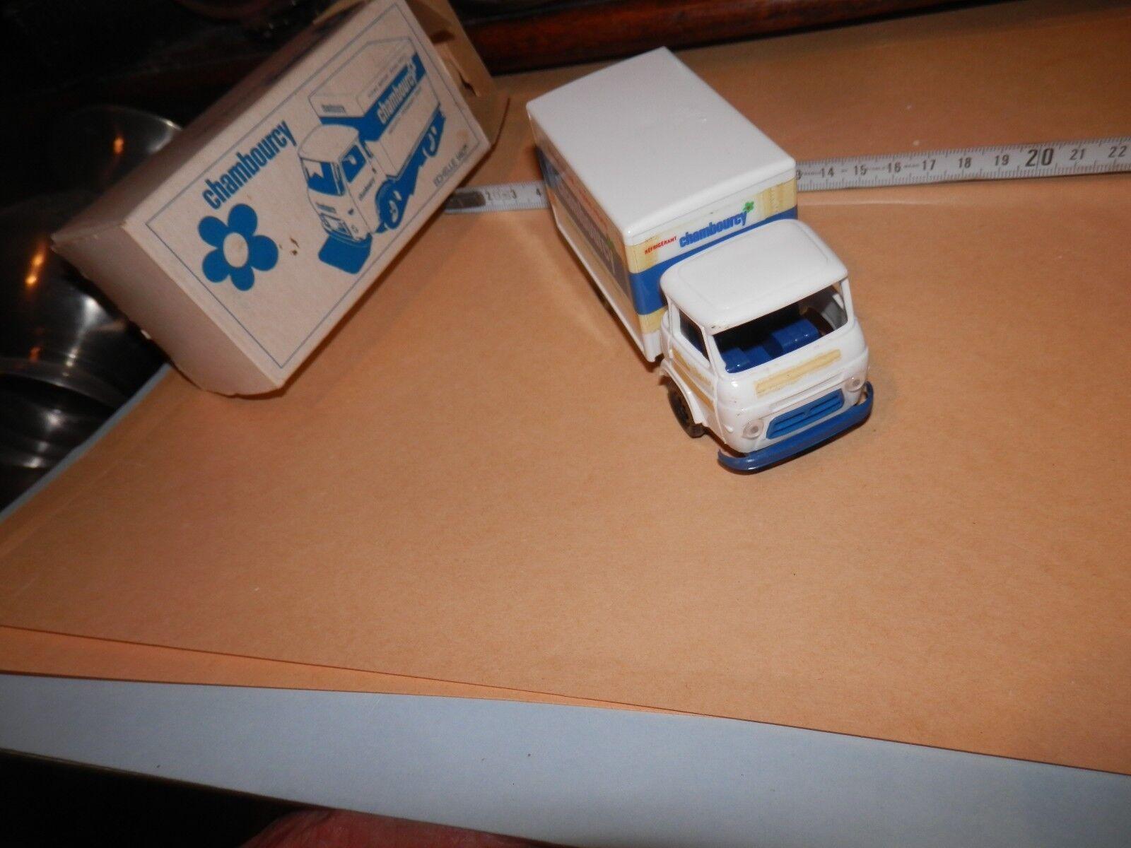 Camion RENAULT SUPER GOELETTE SG 2 publicité CHAMBOURCY en en en boite d origine | Terrific Value  31d5cf