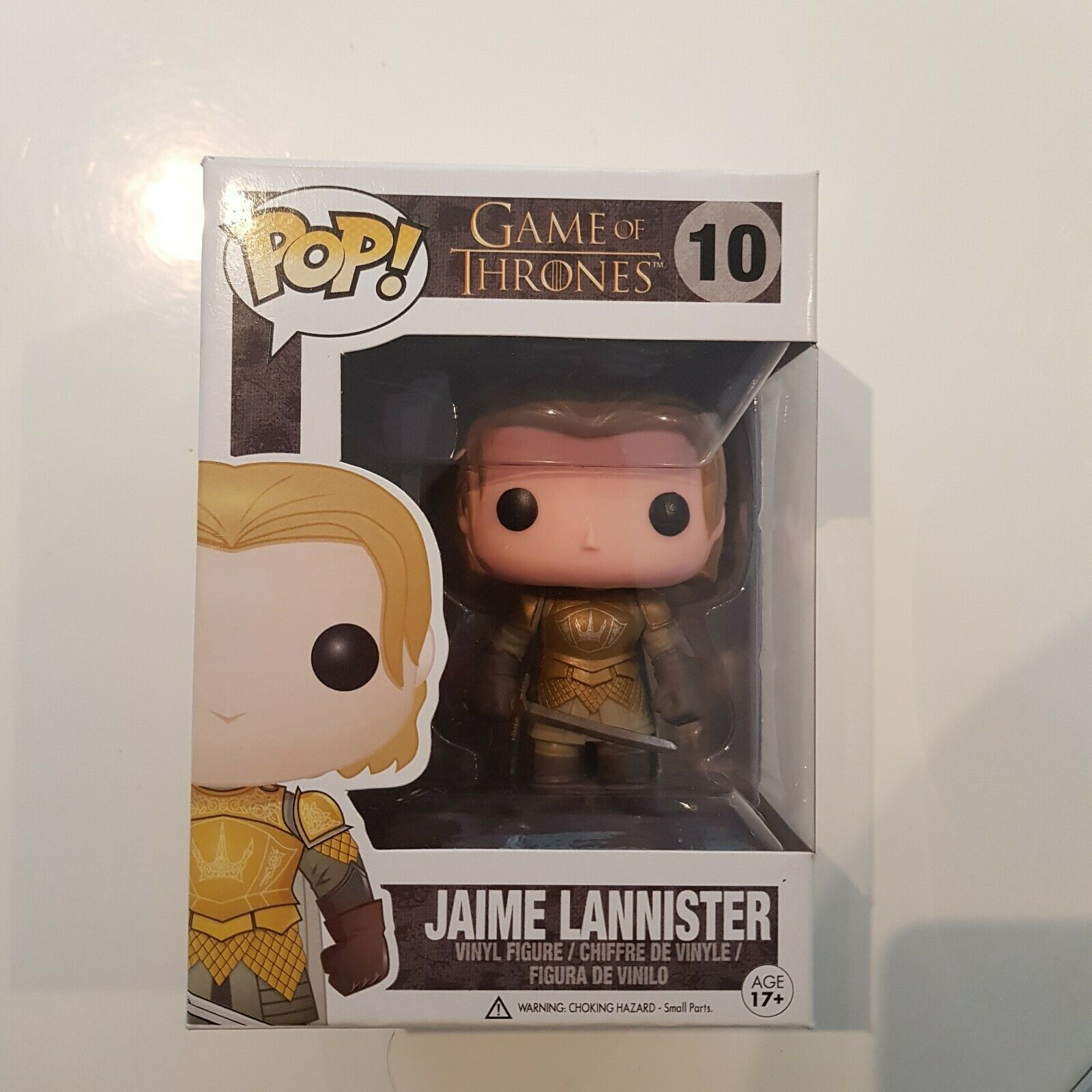 Rare Vaulted Game of Thrones Jaime Lannister funko pop vinyl