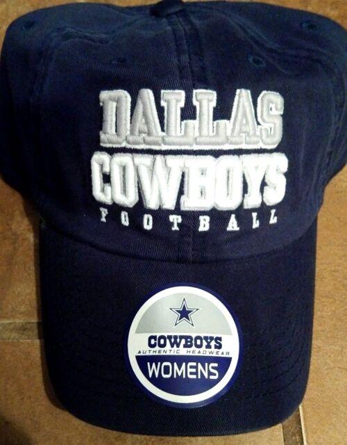 watch 63d12 5a26b Dallas Cowboys 2018 NFL DCM Womens Sloan Blue Strap Back Hat Cap