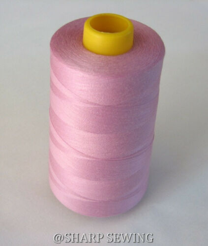 1 SPOOL WILDROSE 100/%  POLYESTER SERGER QUILTING THREAD T27 6000 YARDS #638