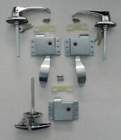 Rv Teardrop Trailer Front Door Handle Latch Kit W/rear T Slam Latch Kit