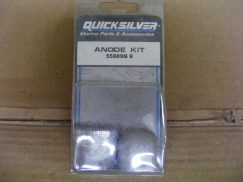 NEW OEM Mercury QuickSilver 90-100-110-300 HP 55989Q9 Anode Kit Bolt Outboard