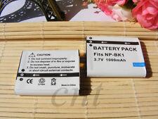 2X NP-BK1 Battery for Sony DSC-W370 Bloggie MHS-PM5 MHS-CM5 S780 S750 S980