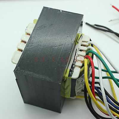 1PC 120W 280V 6P1 6P6P 6P3P EL34 KT66 KT88 Single End Tube Amp Power Transformer