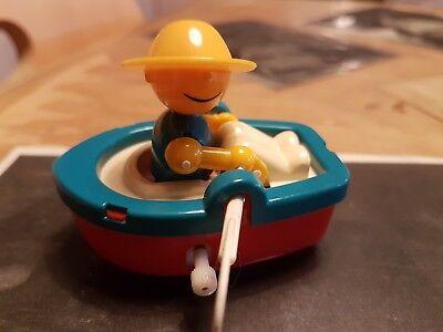 Bandai Ruderer Boot Paddelboot Mit Figur Aufziehboot Bodenfund