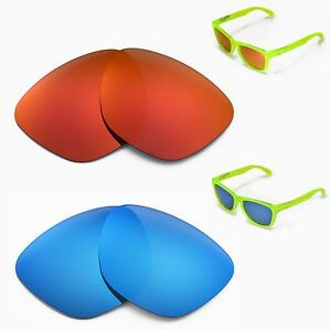 eabe0553807 Image is loading New-Walleva-Polarized-Fire-Red-Ice-Blue-Lenses-