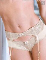 Victoria's Secret Dream Angels Jeweled Garter Belt Size M/l 0060