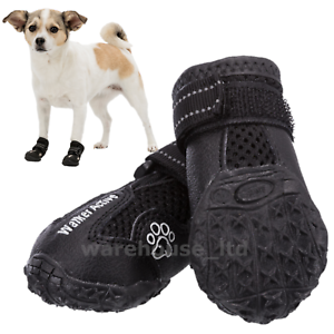 Trixie-New-Protective-Bandage-Walker-ACTIVE-Comfort-Dog-Boots-Shoes-Pair