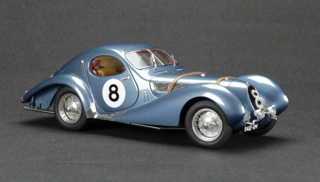 CMC Talbot-Lago Coupe T150 C-SS  8 de Massa Mahé Le Mans 1939 1 18