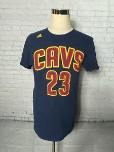 Lebron James 23 NBA Basketball Jersey Cleveland Cavaliers bleu Swingman Shirt