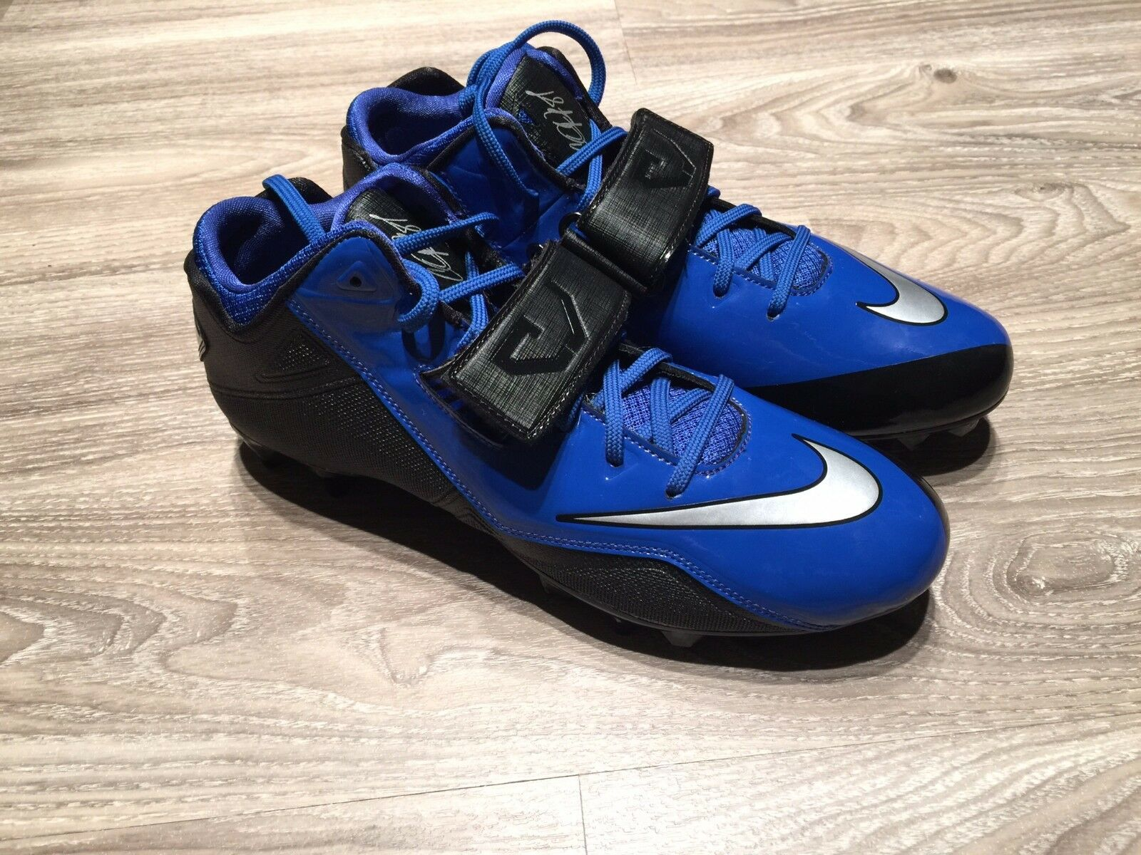 nike cj megatron strike 2 td metà blu blu blu e nero 678119-004 calcio calcio 11,5   Qualità Primacy    Gentiluomo/Signora Scarpa  df9abd