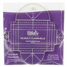 Handi Quilter Multi Clam Shell Quilting Template: Four sizes 1.5-inch to 4-inch