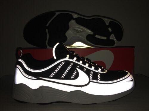 Spiridon Talla '16 Plateado Aire Zoom Zapatos Nike Negros 3m Reflectante AqzETcA6