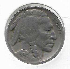 Rare-Antique-1930-US-Buffalo-Indian-Nickel-Collectible-Collection-Coin-LOT-C73