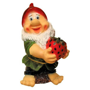 Superbe Image Is Loading Garden Gnome Statue Dwarf Large Sculpture Yard Decor