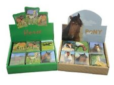 2 x mini horse note pad ( pony party stationery stocking filler )