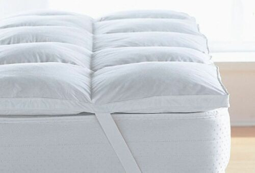 Luxury Duck Feather /& Down Mattress Topper Mattress Cover Available In All Sizes