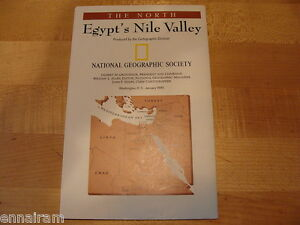 1995 National Geographic Map of Egypt/'s Nile Valley