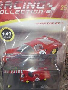 FERRARI-DINO-206-S-TARGA-FLORIO-1966-1-43-FERRARI-RACING-C-25-Mib-DIE-CAST