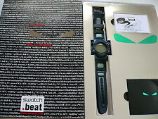 1999 Loomi Backlight Swatch Watch Still Working SQZ103PACK