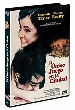 EL ÚNICO JUEGO EN LA CIUDAD DVD (Region 2) Warren Beatty, Elizabeth Taylor NEW