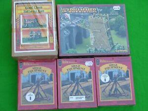 Warhammer, Equipement de siège, Coffrets, Multi-listing