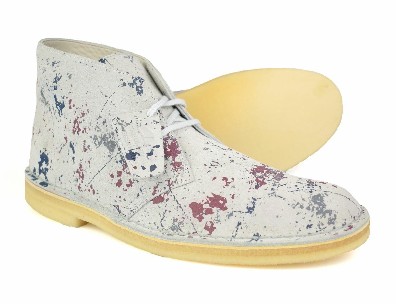Clarks Originals Multicoloured Suede Desert Boots Free UK P&P!