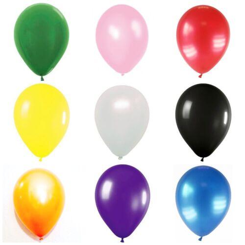 "10x10/"" Pearl Balloons Birthday Wedding Valentines Day Decorations Metallic Balon"