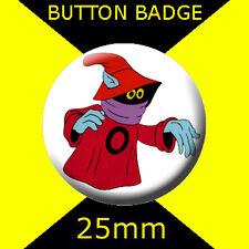 HE-MAN ORKO -  CULT TV  2 -  Button Badge 25mm