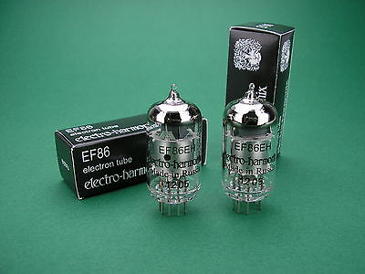 2 x EF86 Electro Harmonix Röhre NEU / 6CF8  -> tube amp Röhrenverstärker