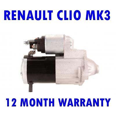 Renault Trafic MK2 MK II 2.5 2001 2002 2003 2004 2005 2006-2016 Starter Motor 12 Month Warranty