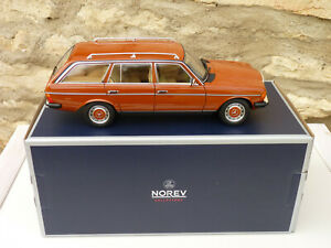 NOREV-183732-Mercedes-Benz-200T-Of-1982-Red-English-S123-to-the-Of-1-18