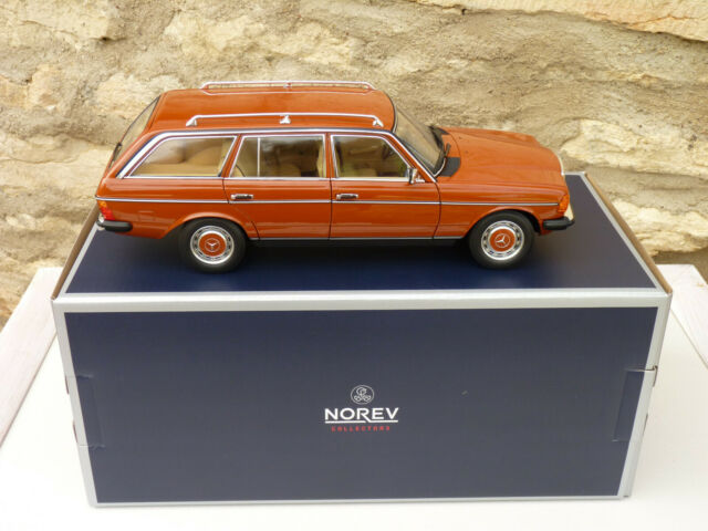 Norev 183732 mercedes benz 200t 1982 english red s123 in 1/18