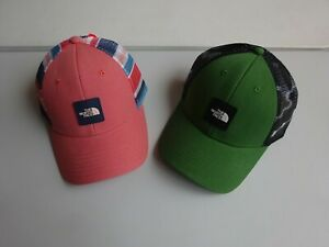 98fc22a918cfd North Face Men s Mudder Novelty Mesh Trucker Snapback Hat Cap NWT ...