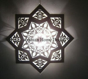 Details About Handcrafted Moroccan 20 Wide Star Flush Mount Ceiling Light Fixture Lamp
