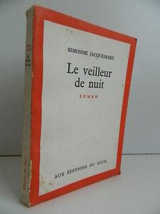 Novela-El-Vigilante-Noche-Simone-Jacquemard-Ediciones-de-La-Umbral-1962
