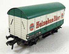Fleischmann 5026 Gedeckter Güterwagen der NS Heineken Bier Spur H0 Blech