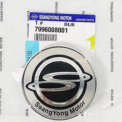 Genuine FRONT HOOD BADGE EMBLEM For SSANGYONG REXTON 01~06  #7996008001
